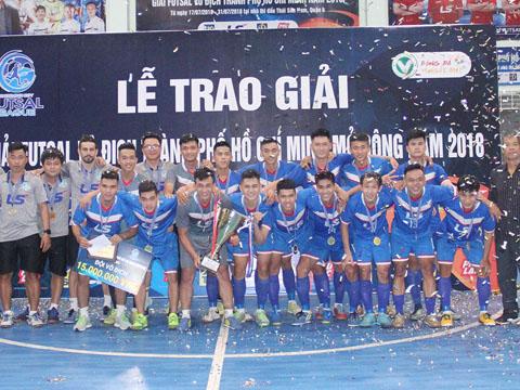 Thái Sơn Nam Quận 8 vô địch giải đấu năm nay. Ảnh: TV