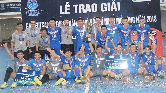 Thái Sơn Nam Quận 8 vô địch giải futsal TP.HCM 2018