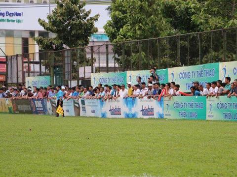 CĐV luôn là hình ảnh đẹp ấn tượng ở giải phong trào Thể thao Thiên Long League