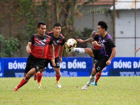 Cựu tuyển thủ Nguyễn Quang Hải thi đấu ở giải này năm ngoái