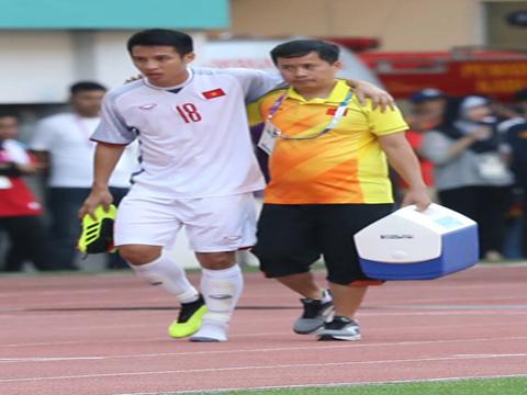 Vắng Hùng Dũng dù thắng U23 Nhật Bản cũng là thiệt thòi lớn cho đội tuyển sắp tới. Ảnh: Hoàng Linh