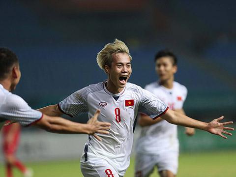 Thành công của U23 Việt Nam đang giúp bóng đá Việt Nam nâng tầm trong mắt nhiều nhà tài trợ lớn. Ảnh: Hoàng Linh