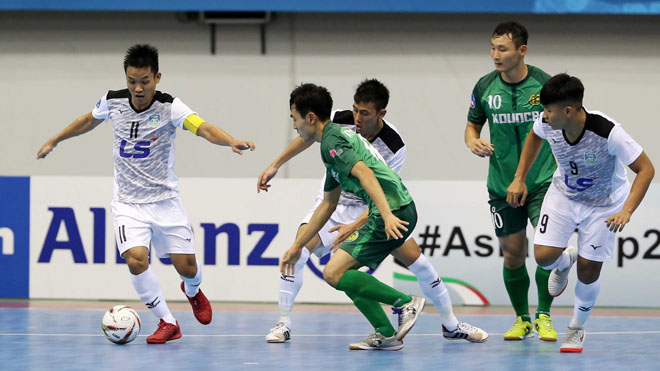 Thái Sơn Nam giành chiến thắng 'khủng' trước đại diện Hàn Quốc