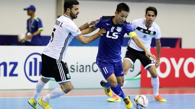 Thái Sơn Nam nguy cơ về sớm từ vòng bảng giải châu lục