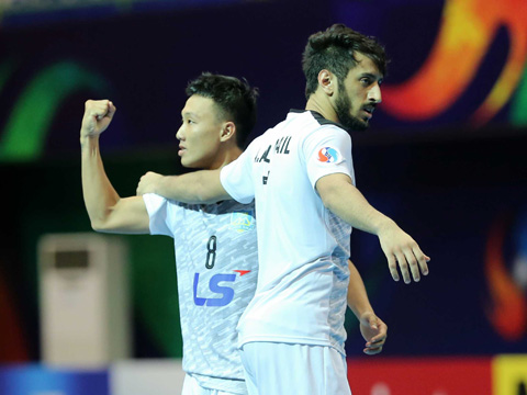 Minh Trí là chân sút hàng đầu của futsal Việt Nam đến hiện tại với 5 bàn thắng. Ảnh: Anh Lập