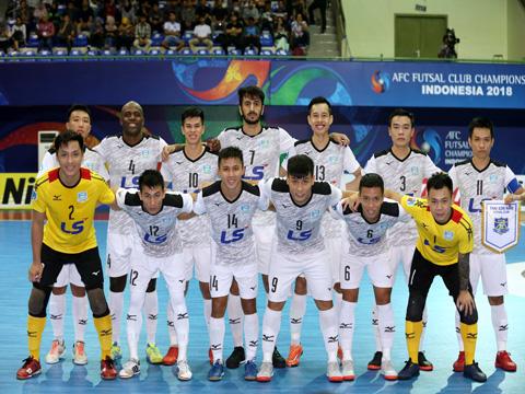 Đây là những gương mặt vừa viết kỳ tích cho futsal Việt Nam ở giải đấu diễn ra trên đất Indonesia. Ảnh: Anh Lập