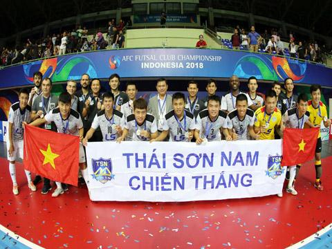 Thành công mà Thái Sơn Nam làm được ở giải châu Á vừa qua sẽ là động lực cho nền futsal hướng tới những đỉnh cao khác. Ảnh: Anh Lập