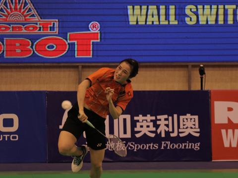 Vũ Thị Trang sẽ gặp tay vợt Thái Lan ở vòng tiếp theo trong ngày 9-8. Ảnh: Quang Liêm