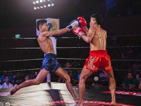 Giải Muay Thai Fight Night có sự tham gia của những võ sĩ hàng đầu thế giới. Ảnh: HT