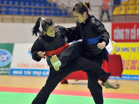 Pencak Silat là hy vọng vàng rất cao của thể thao Việt Nam năm nay. Ảnh: VSI