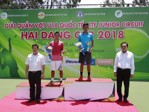 60 điểm thưởng từ giải đấu này giúp Văn Phương lọt TOP 200 trẻ ITF tuần tới. Ảnh: BM