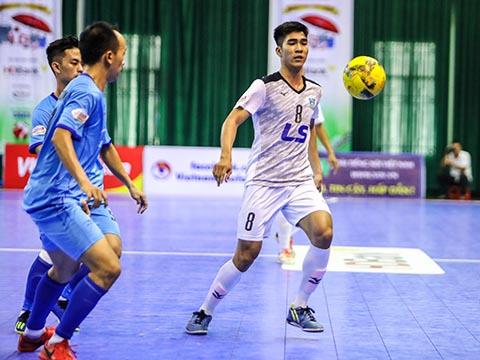 Thái Sơn Nam (trắng) lần thứ 8 vô địch quốc gia. Ảnh: HH