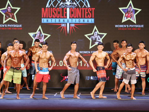 Cuộc thi thể hình quốc tế đến Việt Nam với tiền thưởng khổng lồ cũng là sự kiện thu hút hàng vạn người theo dõi. Ảnh: HT