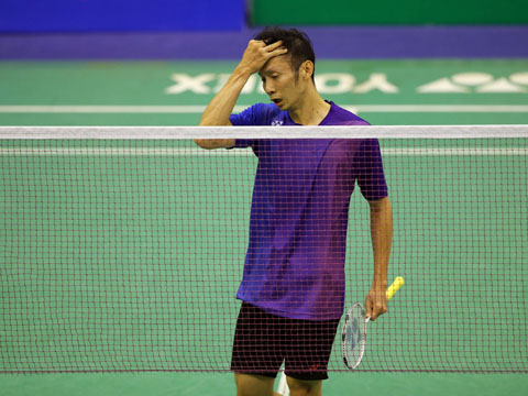 Tiến Minh đã có trận đấu khá thất vọng. Ảnh: Quang Liêm