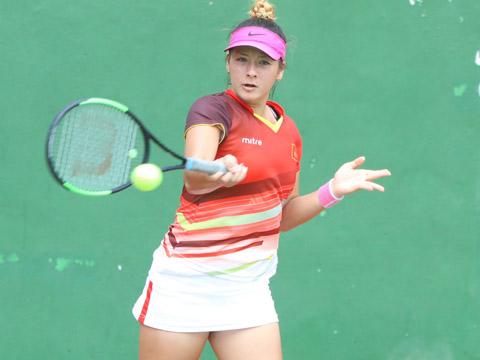 Tay vợt nữ gốc Việt Fodor Csilla là sự bổ sung chất lượng cho đội tuyển trước giờ lên đường dự ASIAD 2018. Ảnh: TT