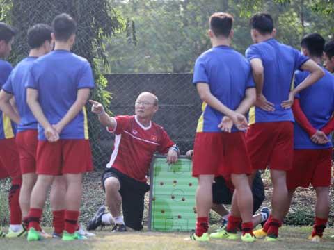 Bóng đá Việt Nam may mắn tìm được một HLV giỏi như ông Park Hang Seo. Ảnh: VFF
