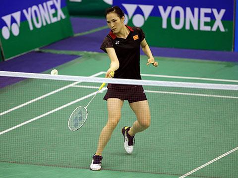 Vũ Thị Trang tiếp tục đánh bại đối thủ từng thắng mình 2 lần trước đó. Ảnh: Quang Liêm
