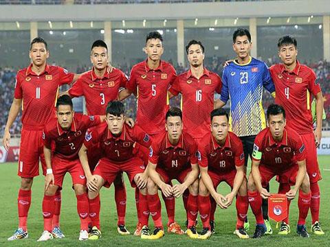 Đội tuyển Việt Nam đã có kết quả bốc thăm thuận lợi ở ASIAN Games 2018. Ảnh: VFF