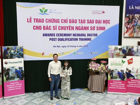Giải đã đóng góp khoảng 3 tỷ đồng hỗ trợ trẻ sơ sinh Việt Nam. Ảnh: BM