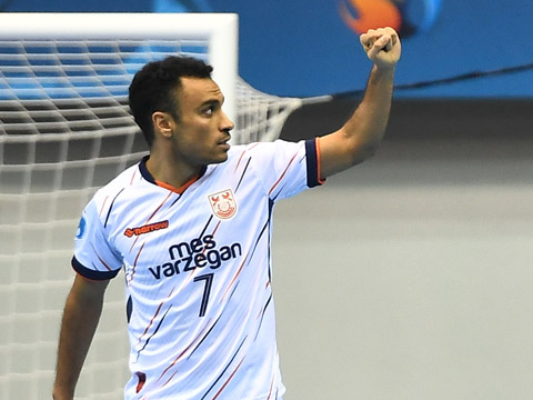 Hassanzadeh là cầu thủ futsal hay nhất châu Á hiện tại. Ảnh: AFC