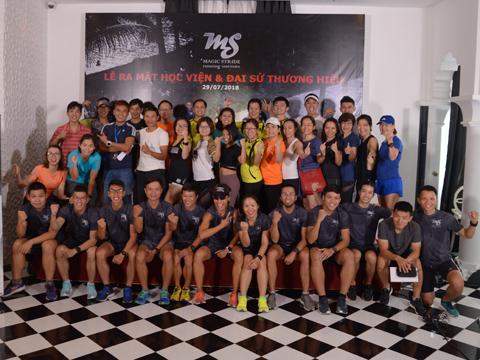 Học viên đam mê chạy bộ sẽ có cơ hội rèn luyện chuyên nghiệp từ Học viện bài bản. Ảnh: LG