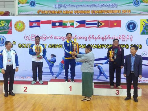 Các vị trí nhất nhì ba toàn đoàn giải năm nay lần lượt thuộc về Việt Nam - Myanmar và Campuchia. Ảnh: LG