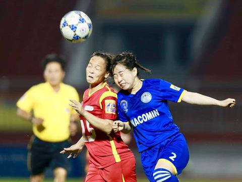Cầu thủ nữ đánh nhau, nữ TPHCM, nữ Than Khoảng Sản, bóng đá nữ đánh nhau ở sân Thống Nhất, bán kết giải VĐQG, Cúp Thái Sơn Bắc, CĐV và cầu thủ nữ đánh nhau