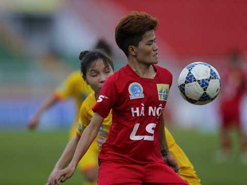 Phong Phú Hà Nam có lý do để chọn Hà Nội của Nguyễn Thị Muôn là đối thủ ở bán kết. Ảnh: Anh Duy
