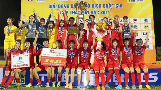 Hạ TP.HCM 1, Phong Phú Hà Nam lần đầu VĐQG