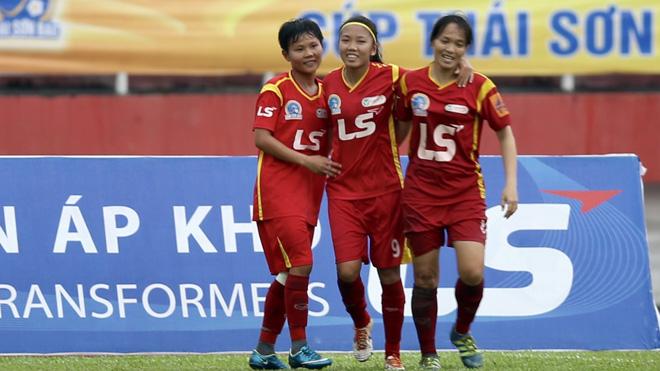 Giải bóng đá nữ VĐQG – Cúp Thái Sơn Bắc 2018: Cô trò Kim Chi kỳ vọng lần thứ 4 lịch sử