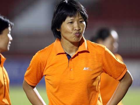HLV Kim Chi không thể giúp TP.HCM 1 lần thứ 4 liên tiếp đăng quang. Ảnh: Quang Liêm