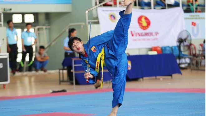 Vovinam đã có ngày hội sinh viên toàn quốc