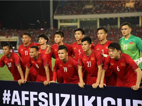 Việt Nam xếp nhất bảng A với thành tích bất bại. Ảnh: Song Ngọc