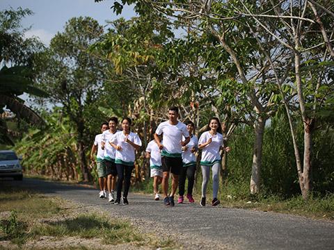 Lần đầu tiên tại ĐBSCL có giải chạy marathon quốc tế quy mô trong năm 2019. Ảnh: BM