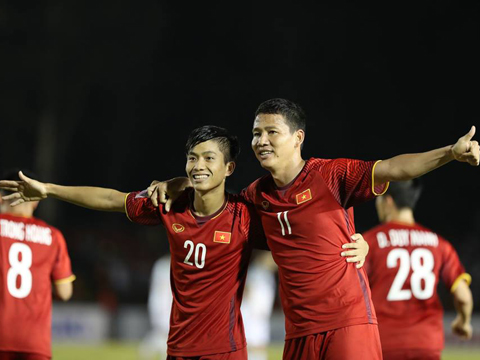 """Cặp đôi """"song"""" Đức đang là hy vọng của Việt Nam. Ảnh: Hoàng Linh"""