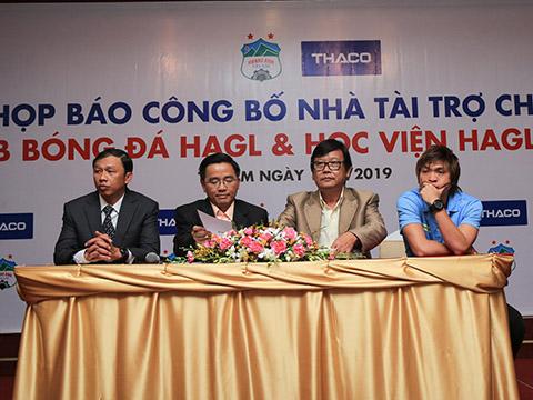 HAGL được giao mục tiêu TOP 5 V-League 2019. Ảnh: Trần Minh