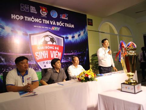 BTC giới thiệu về giải sáng 18-12. Ảnh: Quang Liêm