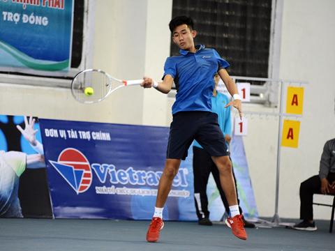 Tay vợt Nguyễn Văn Phương. Ảnh: TT