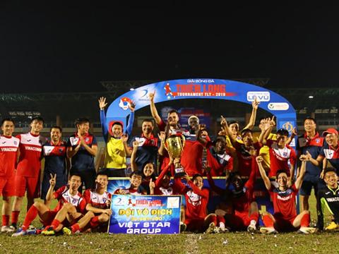 Than Quảng Ninh vô địch Thiên Long Cúp 2019. Ảnh: Đình Viên