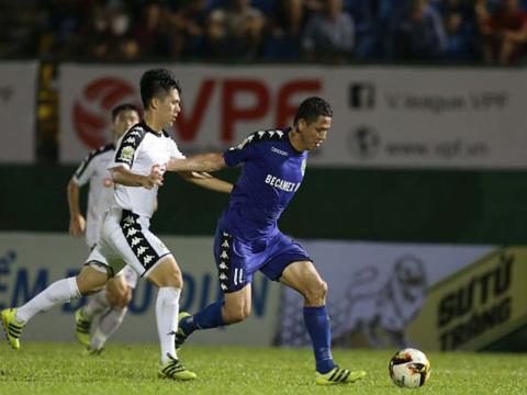 Mùa giải 2019 sẽ bắt đầu bằng cuộc so tài giữa Hà Nội và B.Bình Dương tranh Siêu Cúp QG. Ảnh: VPF