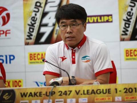 HLV Lee Heung Sil dự báo sẽ gặp khó khăn ở Thống Nhất tuần này. Ảnh: VPF