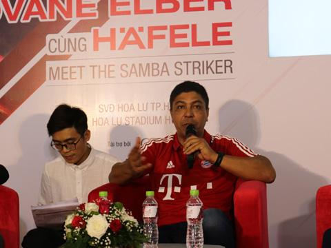Elber bày tỏ bản thân cũng ngưỡng mộ tài năng của Mourinho khi được hỏi về tin đồn HLV Bồ Đào Nha sẽ về Bayern Munich. Ảnh: HD