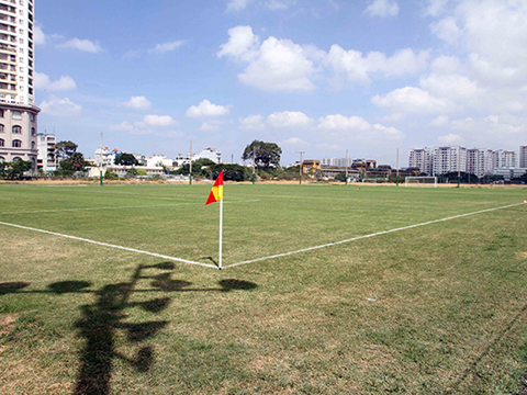 Sân tập có thể đáp ứng điều kiện của thầy trò HLV Park Hang Seo. Ảnh: LH