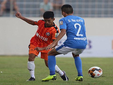 Thanh Hải được HLV Lê Huỳnh Đức tin dùng ở mọi trận đấu nếu cầu thủ này không chấn thương. Ảnh: VPF