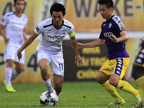 Tuấn Anh đã có màn thể hiện xuất sắc để ghi điểm với HLV Park Hang Seo trước thềm King's Cup. Ảnh: VPF