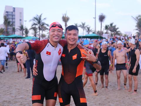 Ironman là dịp thử thách giới hạn bản thân và quảng bá hình ảnh đất nước với bạn bè thế giới. Ảnh: TT