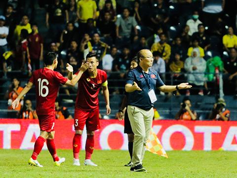 Thầy trò HLV Park Hang Seo đã có nhiều điều bổ ích sau King's Cup. Ảnh: Hoàng Linh