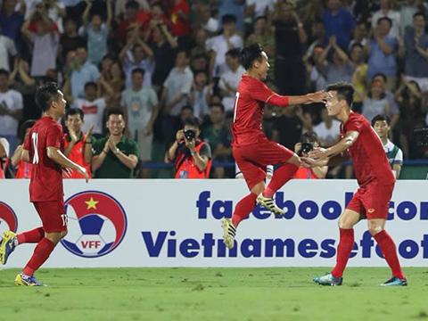 Việt Hưng hứa hẹn là điểm sáng nơi tuyến giữa của U23 Việt Nam tại SEA Games 30. Ảnh: Hoàng Linh