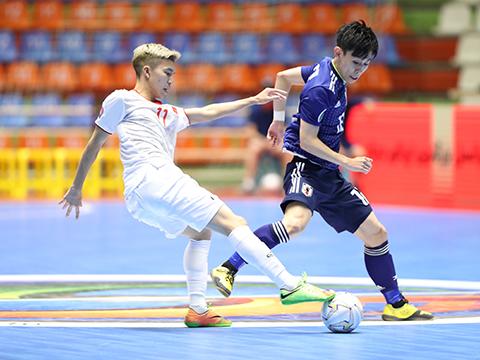Thất bại 1-2 trước người Nhật khiến U20 Việt Nam phải chạm trán U20 Indonesia ở tứ kết. Ảnh: TD