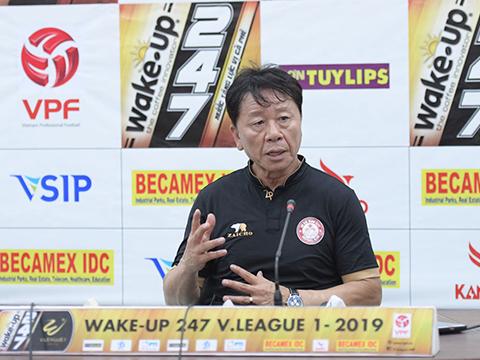HLV Chung Hae Soung được đánh giá cao về chuyên môn. Ảnh: VPF